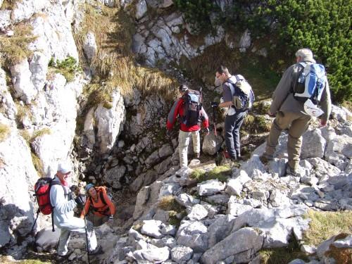 Foto: hofchri / Klettersteig Tour / Hochthron-Klettersteig  / wer suchet, der findet - das Mittagsloch / 23.02.2009 19:43:20