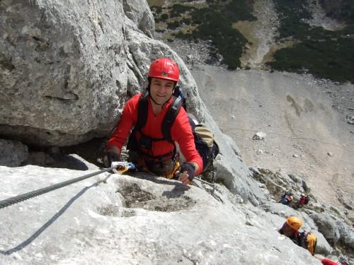 Foto: hofchri / Klettersteig Tour / Hochthron-Klettersteig  / Genusswandl (B/C) / 23.02.2009 19:37:34