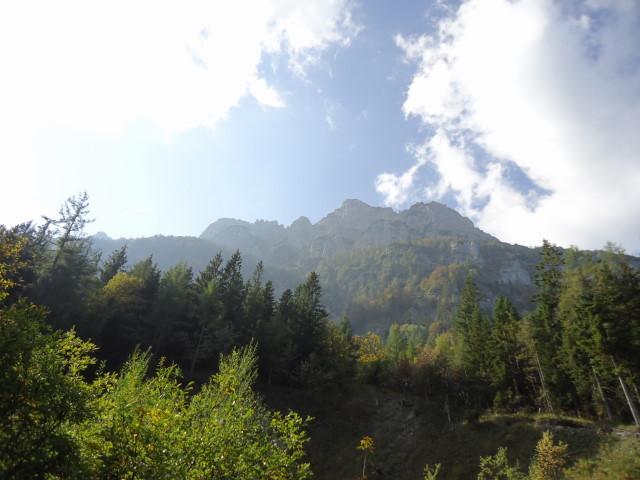 Foto: Günter Siegl / Klettersteig Tour / Pidinger Klettersteig / Hochstaufen  / 07.10.2011 10:55:37