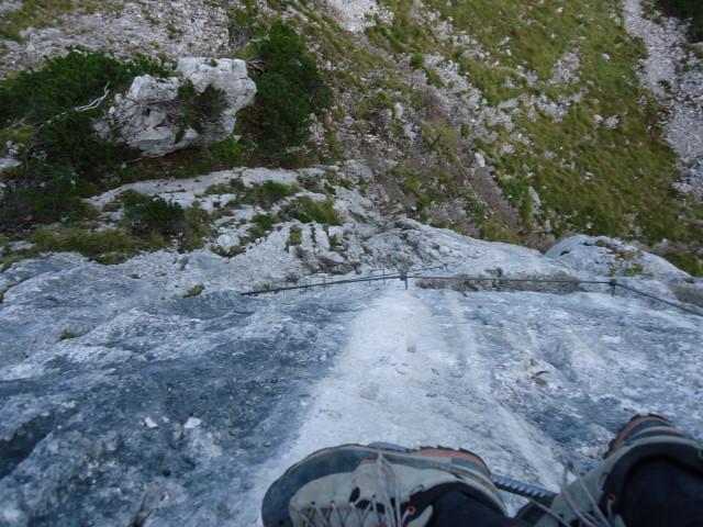 Foto: Günter Siegl / Klettersteig Tour / Pidinger Klettersteig / 07.10.2011 10:54:45