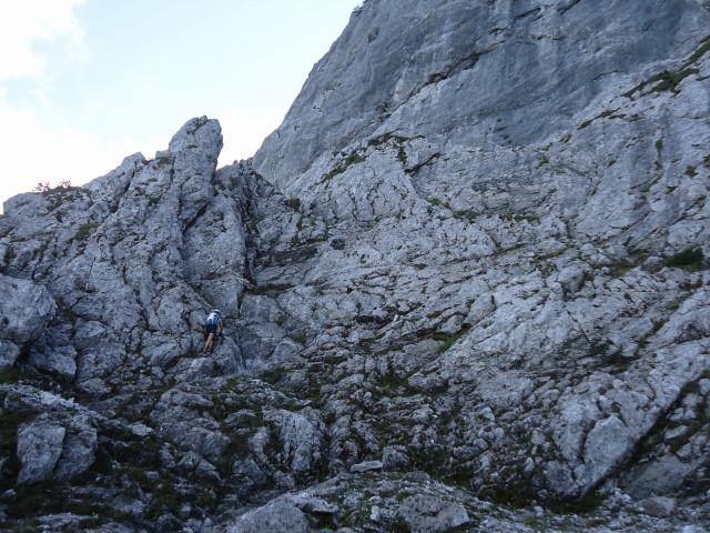 Foto: Günter Siegl / Klettersteig Tour / Pidinger Klettersteig / 07.10.2011 10:52:48