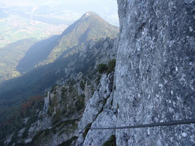 Foto: Günter Siegl / Klettersteig Tour / Pidinger Klettersteig / 07.10.2011 10:50:53