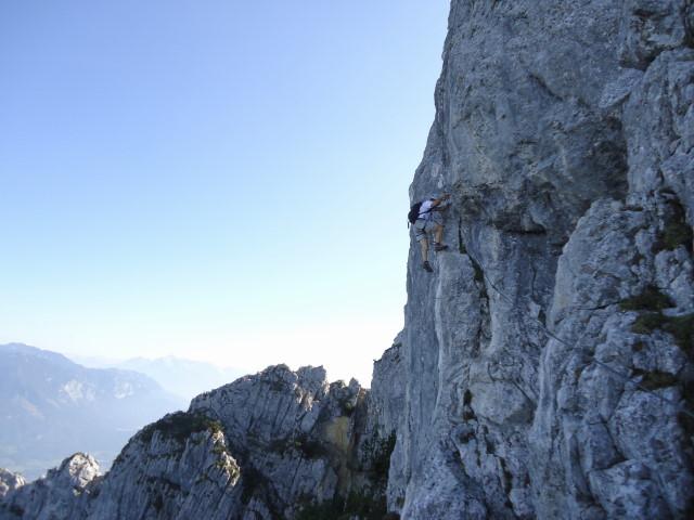 Foto: Günter Siegl / Klettersteig Tour / Pidinger Klettersteig / 07.10.2011 10:49:51