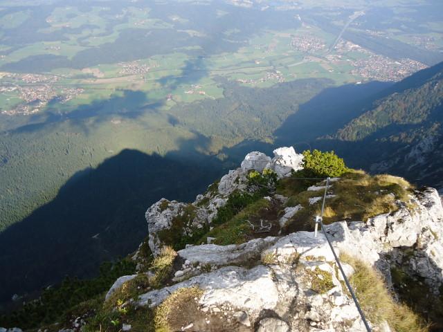 Foto: Günter Siegl / Klettersteig Tour / Pidinger Klettersteig / Ausstieg / 07.10.2011 10:48:51
