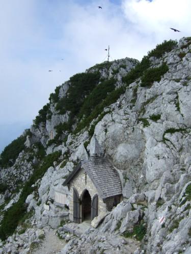 Foto: hofchri / Klettersteig Tour / Pidinger Klettersteig / Blick zum Hochstaufen rauf (1771 m) / 21.02.2009 22:58:59