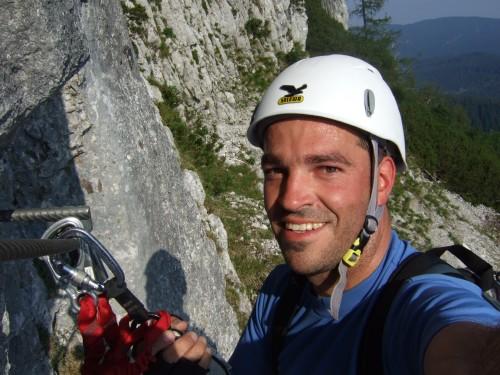 Foto: hofchri / Klettersteig Tour / Pidinger Klettersteig / nach dem Gehgelände (A) / 21.02.2009 22:54:39