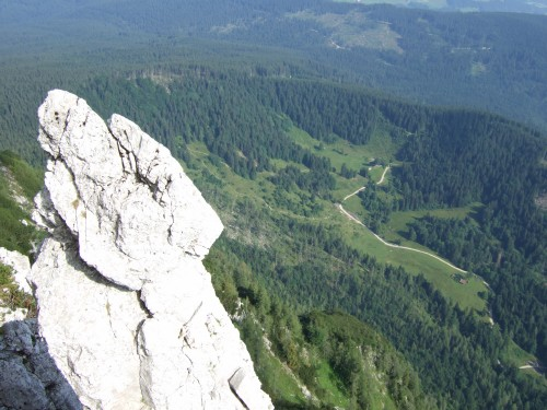 Foto: hofchri / Klettersteig Tour / Pidinger Klettersteig / an der Kante C) / 21.02.2009 22:56:39