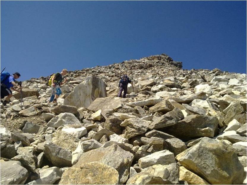 Foto: gumpiand / Wander Tour / Vom Mooserboden auf den Hocheiser / Zum Gipfel des Grieskogels / 06.10.2009 21:46:56