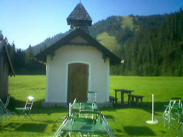 Foto: Charly Weigarten / Mountainbike Tour / Esterberg Alm / Kapelle gegenüber der Esterbergalm / 02.08.2009 19:58:47