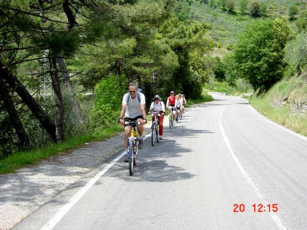 Foto: Manfred Karl / Mountainbiketour / Passo la Foce, 578 m / Gemütliche Auffahrt zum Pass / 24.07.2020 10:23:00