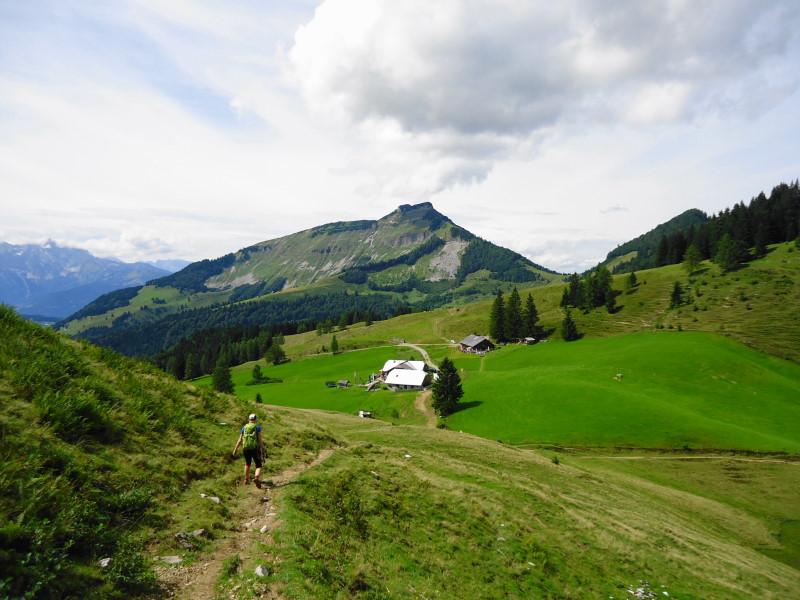 Foto: Günter Siegl / Wander Tour / Über den Nordostgrat auf den Regenspitz / Bergalm / 28.08.2014 19:53:23