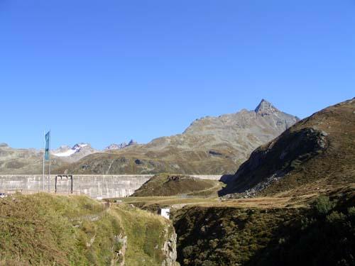 Foto: vince 51 / Wander Tour / Rundtour in der Silvretta / Silvretta-Staudamm und Hohes Rad / 04.11.2007 21:01:51
