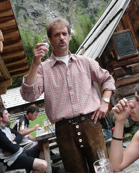 Foto: Lenswork.at / Ch. Streili / Wander Tour / Vom Göriachtal zum oberen Landawirsee / Hias von der Hansalhütte / 27.05.2008 11:53:54