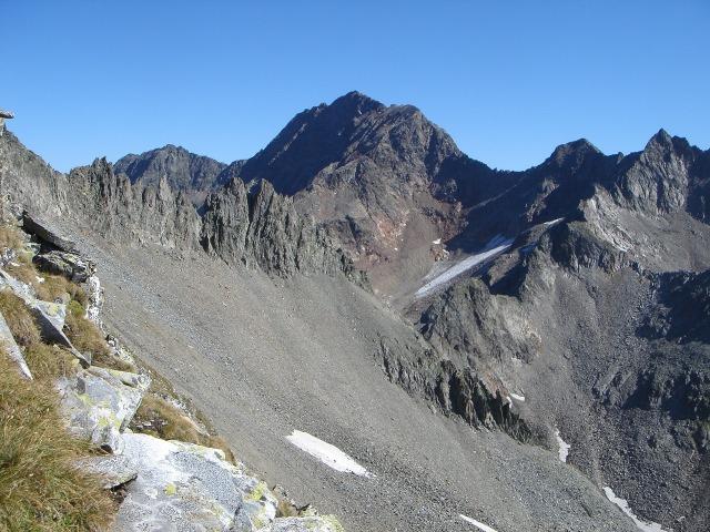 Foto: berglerin / Wandertour / Durch das Debanttal auf den Glödis 3206m / Roter Knopf / 01.08.2009 14:42:33