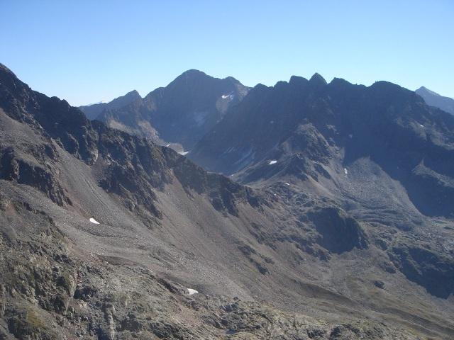 Foto: berglerin / Wandertour / Durch das Debanttal auf den Glödis 3206m / 01.08.2009 14:42:17