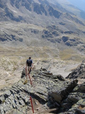 Foto: berglerin / Wandertour / Durch das Debanttal auf den Glödis 3206m / 01.08.2009 14:41:36