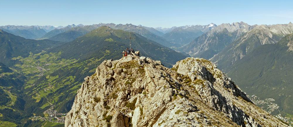 Foto: vince 51 / Wander Tour / Tschirgant / Blick nach Westen / 10.07.2009 20:18:49