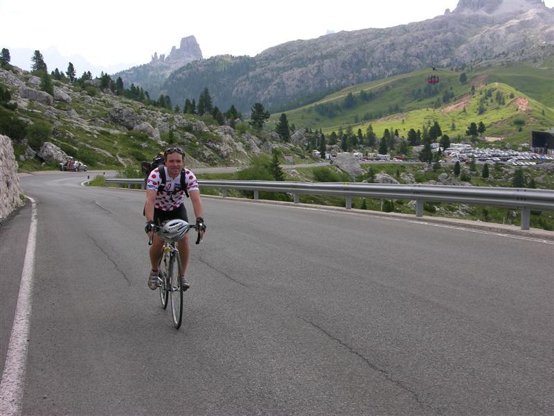 Foto: Bernhard Berger / Rad Tour / Mit dem Rennrad rund um Marmolada, Civetta und Pala / Unterwegs in den Dolomiten II / 22.04.2008 06:35:22