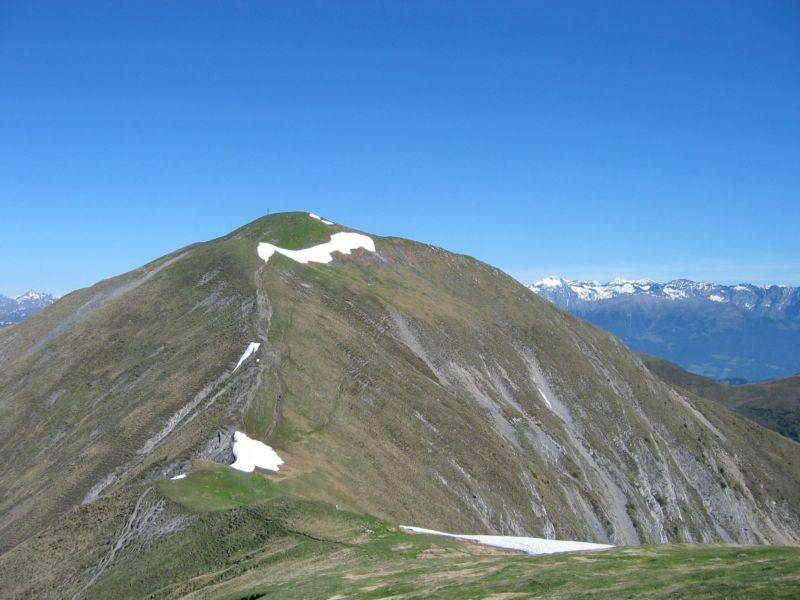Foto: Gernot Huber / Wander Tour / Latschur / Letzter Anstieg zum Gipfel / 28.01.2011 15:13:22