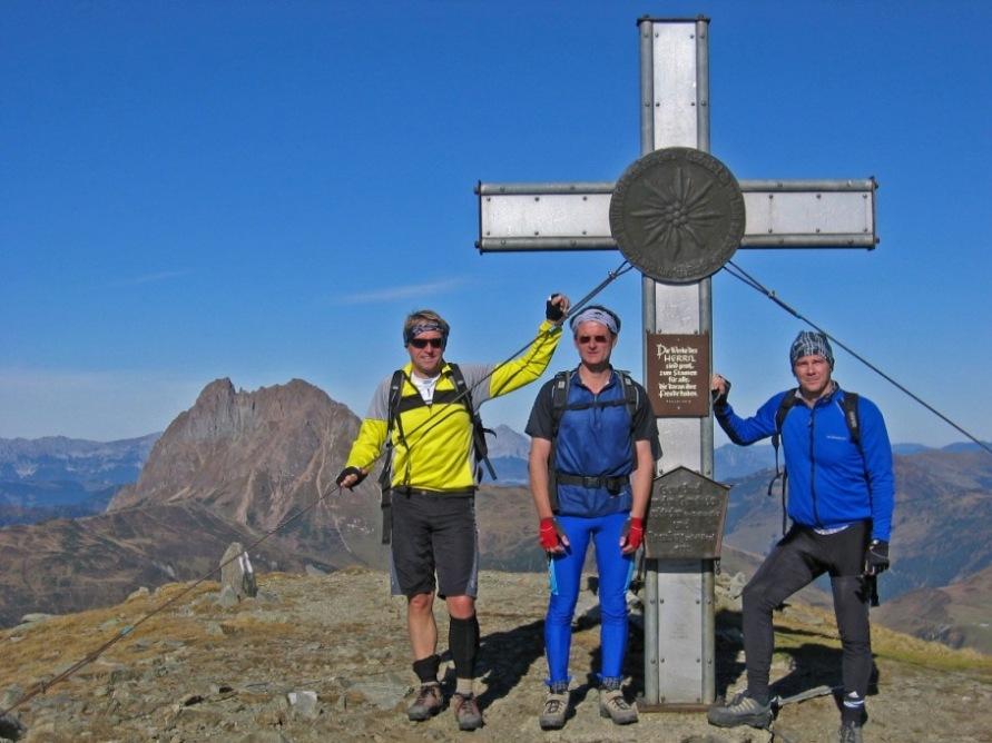 Foto: forstpointler / Mountainbike Tour / Wildkogeltrail / Am Gipfel vom Wildkogel auf 2224m ü.M. / 11.09.2009 14:11:53