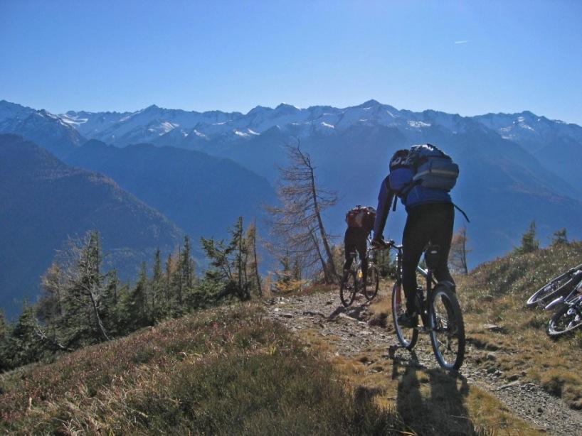 Foto: forstpointler / Mountainbike Tour / Wildkogeltrail / Grandios dieser Trail nach Neukirchen am Groß Venediger / 11.09.2009 14:42:04