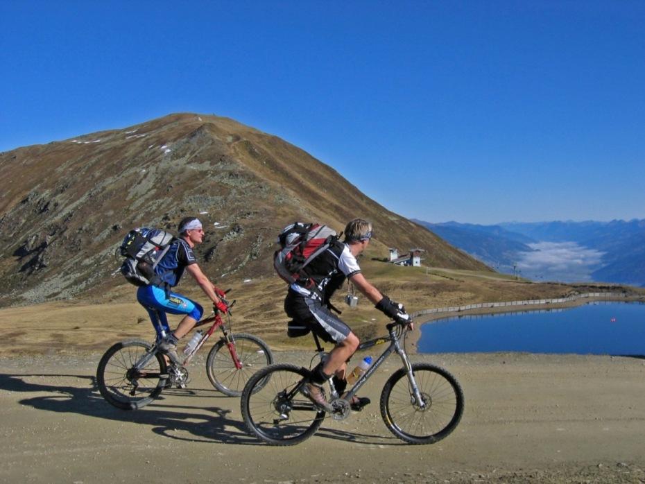 Foto: forstpointler / Mountainbike Tour / Wildkogeltrail / den höchsten Punkt mit dem Bike erreicht!  / 11.09.2009 14:07:53