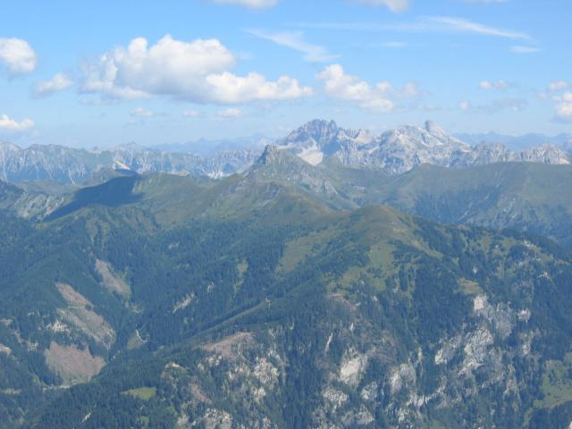 Foto: pepi4813 / Wander Tour / Gamskarkogel / Blick vom Frauenkogel zum Faulkogel / 13.08.2009 11:27:13