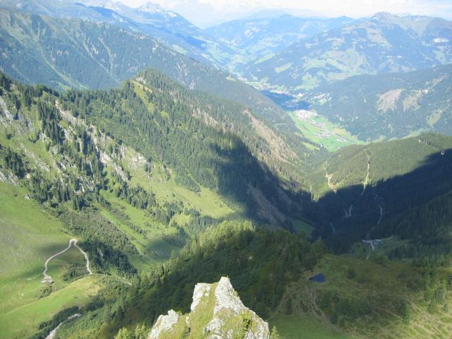Foto: pepi4813 / Wander Tour / Gamskarkogel / Blick vom Schober zur Bachalm / 13.08.2009 11:29:22