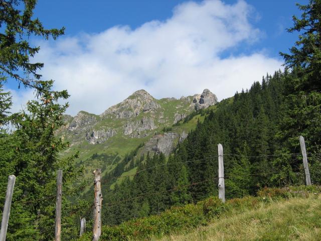Foto: pepi4813 / Wander Tour / Kreuzkogel - Schuhflicker / Blick von der Arlscharte zum Schuhflicker<br> / 13.08.2009 11:10:00