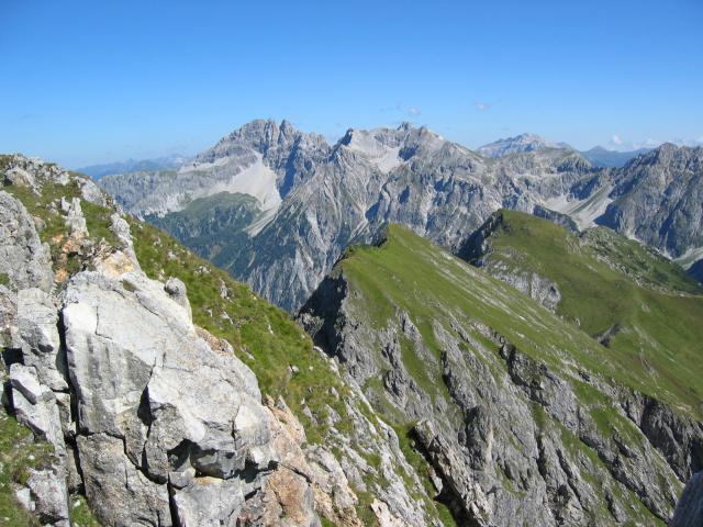 Foto: pepi4813 / Wander Tour / Draugstein / Blick vom Draugstein zum Faulkogel / 13.08.2009 11:17:16