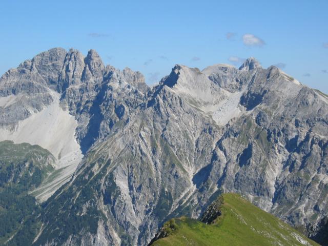Foto: pepi4813 / Wander Tour / Draugstein / Blick zum Faulkogel und Mosermandl / 13.08.2009 11:17:31