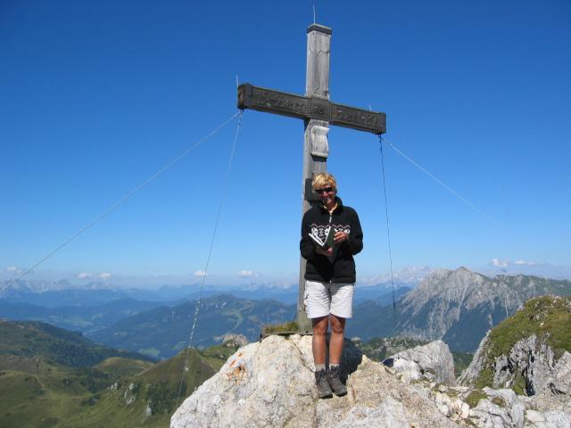 Foto: pepi4813 / Wander Tour / Draugstein / Gipfelkreuz Draugstein / 13.08.2009 11:18:20
