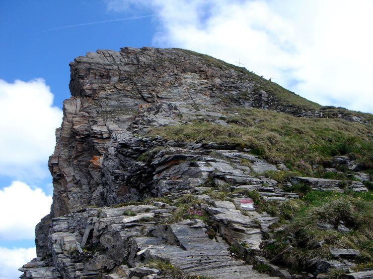 Foto: Manfred Karl / Wander Tour / Höllwand / Der unmittelbare Gipfelaufbau / 03.06.2008 15:07:34