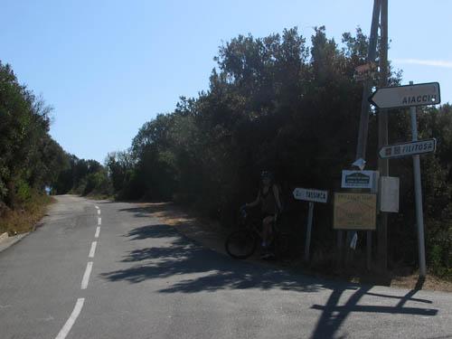 Foto: Lenswork.at / Ch. Streili / Mountainbike Tour / Von Cupabia über den Bocca di Gradello nach Coti-Chiavari / 19.10.2007 18:46:42