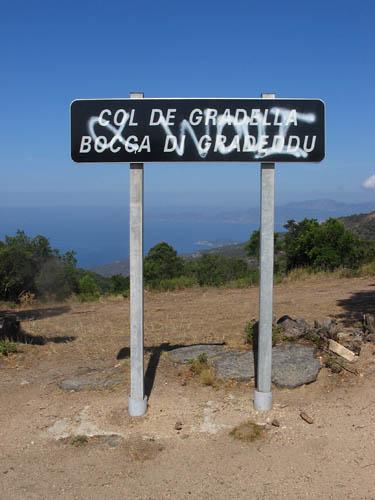 Foto: Lenswork.at / Ch. Streili / Mountainbike Tour / Von Cupabia über den Bocca di Gradello nach Coti-Chiavari / 19.10.2007 18:44:57