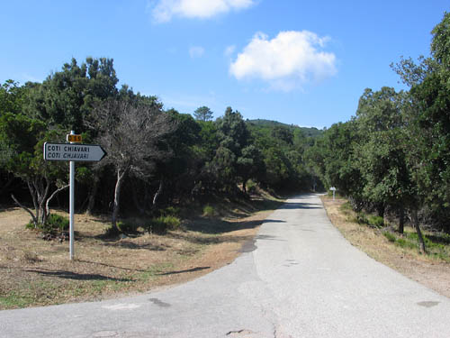 Foto: Lenswork.at / Ch. Streili / Mountainbike Tour / Von Cupabia über den Bocca di Gradello nach Coti-Chiavari / 19.10.2007 18:44:38