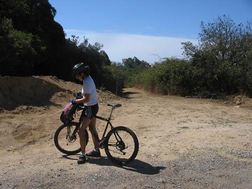 Foto: Lenswork.at / Ch. Streili / Mountainbike Tour / Von Cupabia über den Bocca di Gradello nach Coti-Chiavari / 19.10.2007 18:42:43