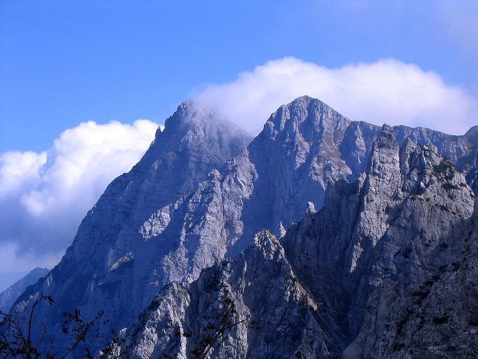 Foto: Andreas Koller / Klettersteig Tour / Hochturm - Nordflankensteig (2088 m) / Die Koschuta (2134 m) / 18.09.2007 01:22:52