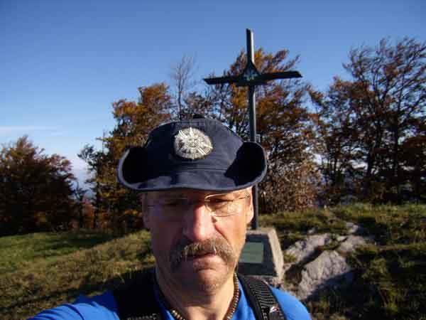 Foto: pipe / Wander Tour / Hinteralm / Am Gipfel der Hinteralm / 23.09.2007 16:15:57