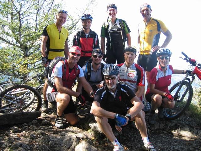 Foto: Jürgen Lindlbauer / Mountainbike Tour / Von Reichraming über das Aueralmbachtal auf die Hohe Dirn / Auf der Hohen Dirn  / 25.09.2007 12:58:58