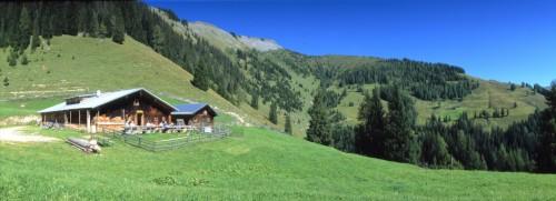 Foto: Kloiber Gabi / Mountainbike Tour / Mountainbikestrecke - Maurachalm-Unterwandalm  / Unterwandalm, 1.600 m / 26.09.2007 14:56:07
