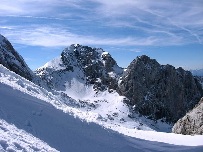 Foto: Andreas Koller / Wander Tour / Über die Steinerscharte zur Adamekhütte (2721 m) / In der Steiner Scharte mit Blick auf den Torstein (2948 m) / 28.09.2007 19:14:57