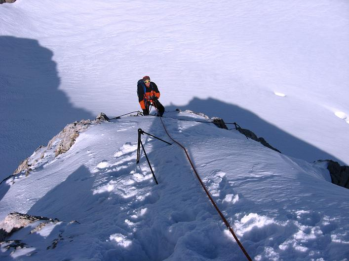 Foto: Andreas Koller / Wander Tour / Über die Steinerscharte zur Adamekhütte (2721 m) / Steiler Anstieg in die Steiner Scharte / 28.09.2007 19:15:26