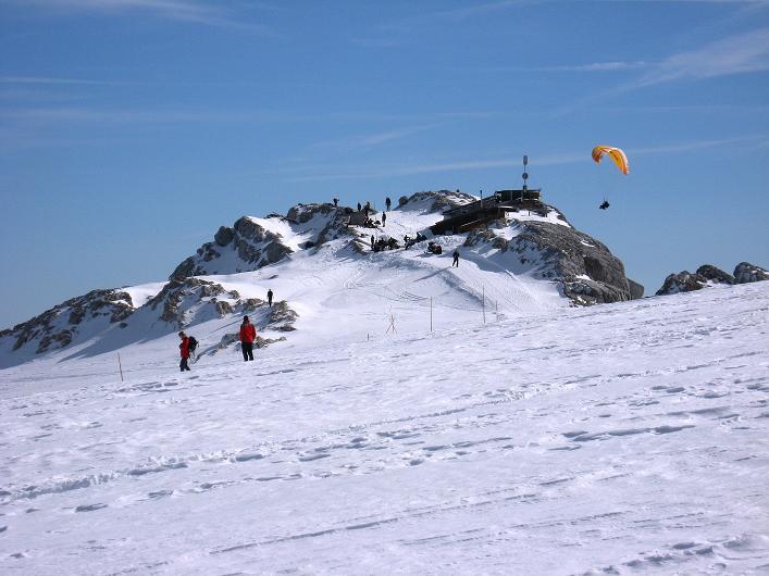 Foto: Andreas Koller / Wander Tour / Über die Steinerscharte zur Adamekhütte (2721 m) / Fun am Gletscher bei der Seethalerhütte (2740 m) / 28.09.2007 19:20:14