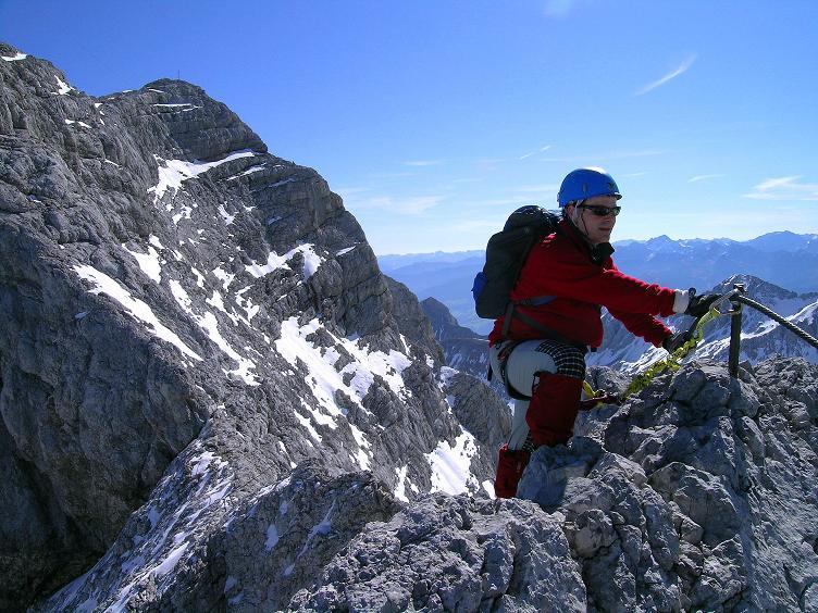 Foto: Andreas Koller / Klettersteig Tour / Westgrat Koppenkarstein neu (2865 m) / Im Auf und Ab am W-Grat / 28.09.2007 19:53:29