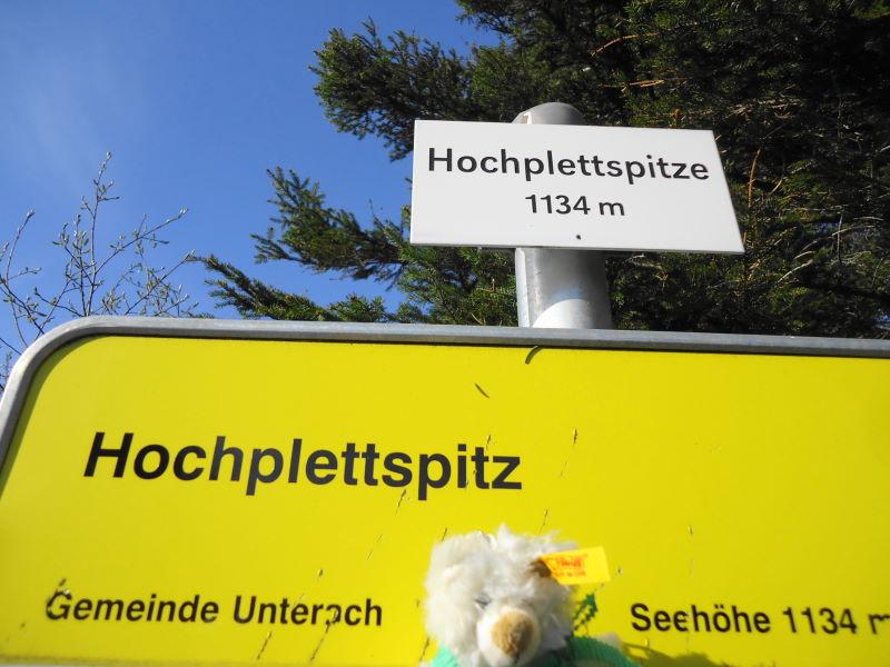 Foto: Günter Siegl / Wander Tour / Der kürzeste Weg auf die Hochplettspitze / Hochplettspitze oder Hochplettspitz? / 03.05.2015 18:54:46