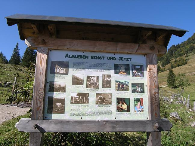 Foto: Benedik Herbert / Wander Tour / Illinger Alm Runde auf das Spitzeck / 02.10.2007 20:30:47