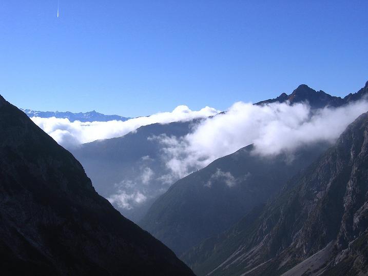 Foto: Andreas Koller / Klettersteig Tour / Steinsee Klettersteig (2650 m) / Blick nach S / 09.10.2007 01:53:05