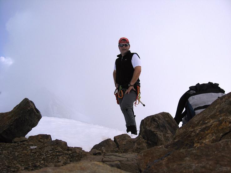 Foto: Andreas Koller / Wander Tour / Grattour vom Silvrettahorn zur Schneeglocke (3244 m) / Auf der Schneeglocke / 12.10.2007 00:21:05