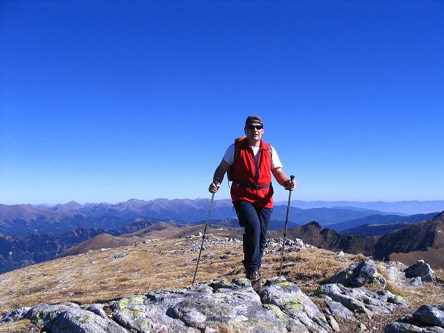 Foto: Andreas Koller / Wander Tour / Aus dem Schöttlgraben auf den Hohenwart (2363 m) / Die letzten Meter zum Gipfel / 17.10.2007 02:23:21